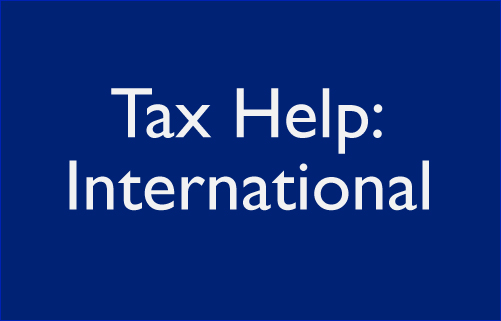 Tax Help: International